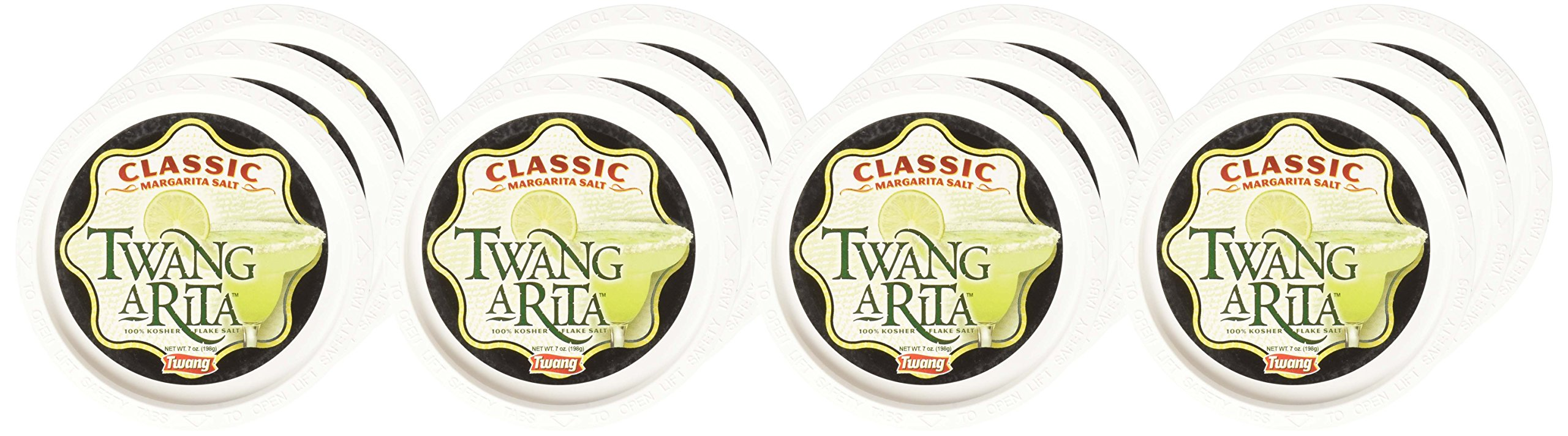 Twang-A-Rita, Classic Margarita Salt, 6-Ounce Tub (Pack of 12) by Twang (Image #2)