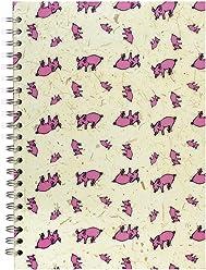Pink Pig A4 Portrait, Kids Drawing Pad | White Cartridge, 35 Leaves | Random
