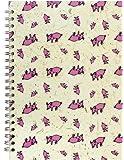 Pink Pig A4 Portrait Notebook | Lined Paper, 70 Leaves | Random