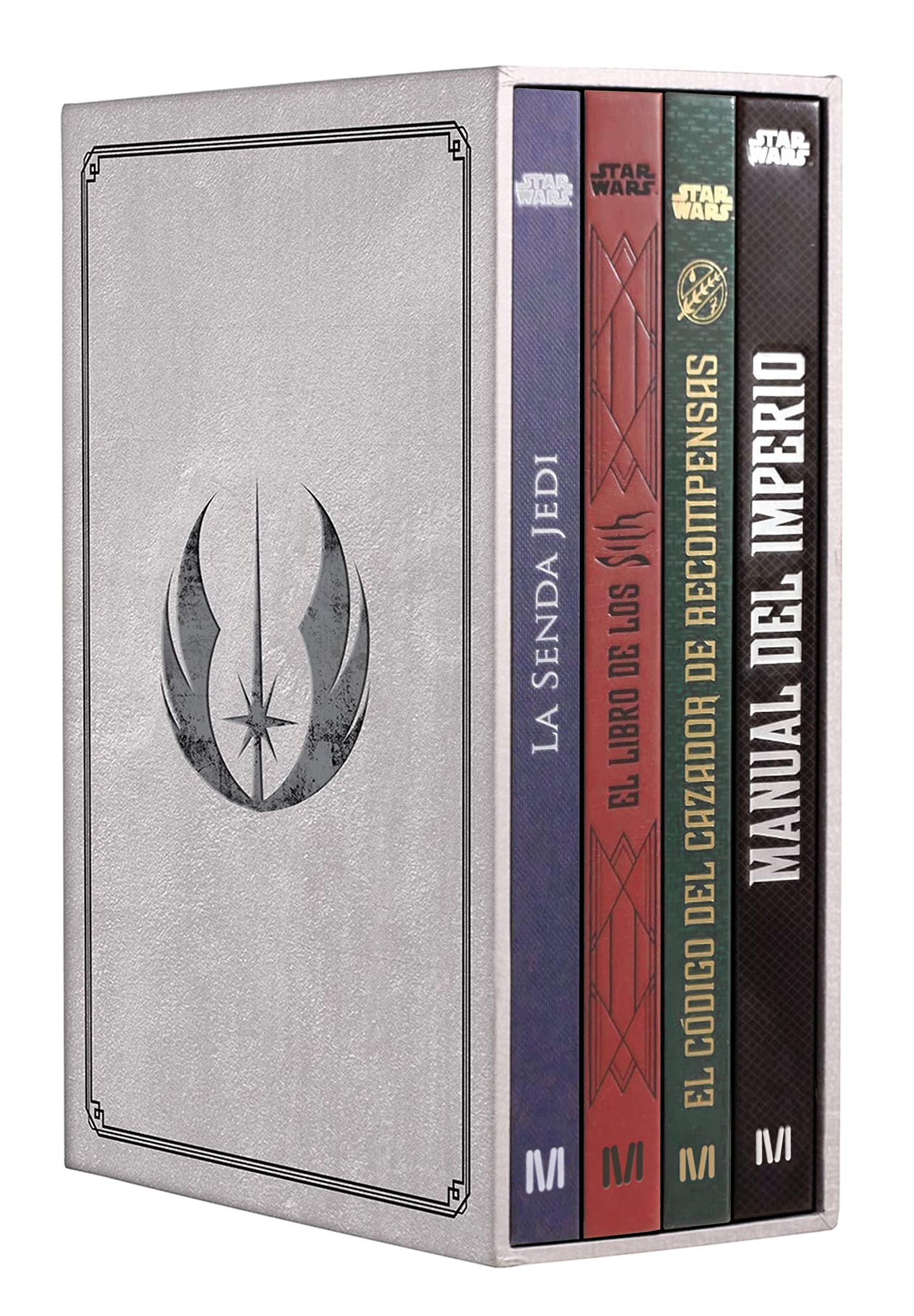 Star Wars Secretos de la galaxia Estuche de lujo Star Wars Ilustrados: Amazon.es: Wallace, Daniel, Traducciones Imposibles S. L.: Libros
