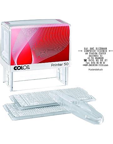 IMPACT2PRINT COLOP P20 SOLD OUT Auto-Encreur Timbre En Caoutchouc Entreprise Timbre Personnalis/é Bureau Stationnaire