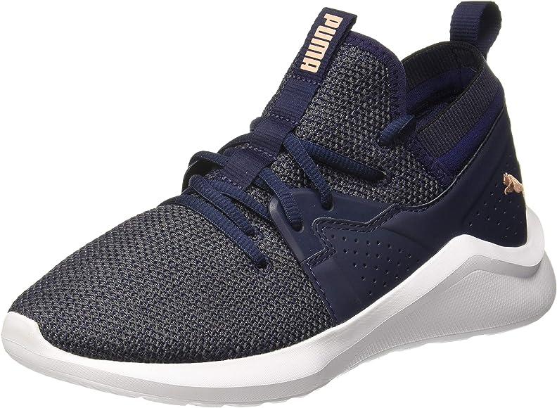 Puma Emergence Wns, Zapatillas de Running para Mujer, Azul (Peacoat-Peach Bud White), 42.5 EU: Amazon.es: Zapatos y complementos