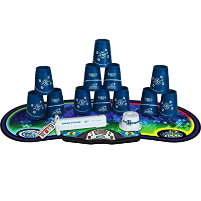 Speed Stacks Competitor - Pro Series 2 Choi w/ Voxel Glow Mat: Toys & Games