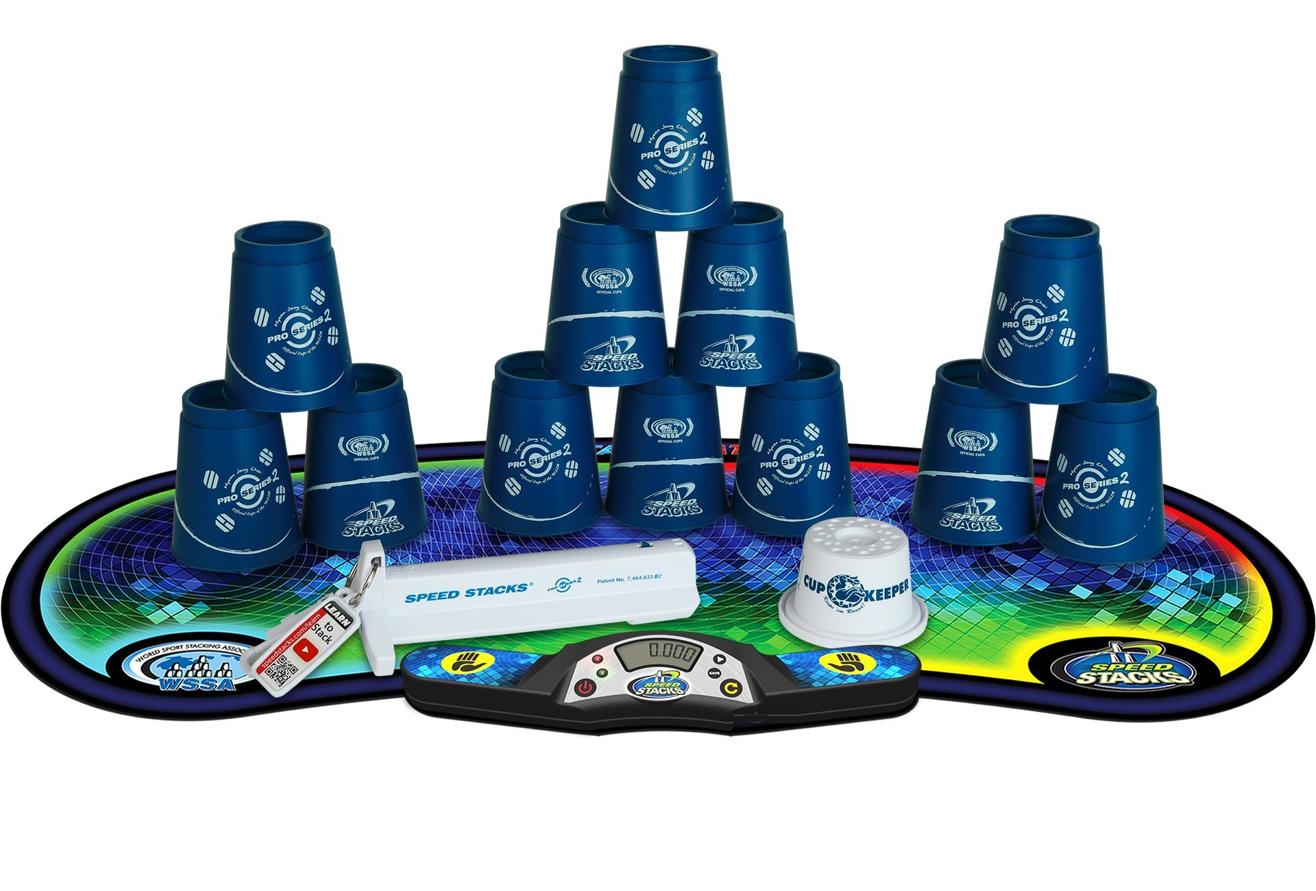 SPEED STACKS Competitor - Pro Series 2 Choi w/ Voxel Glow Mat