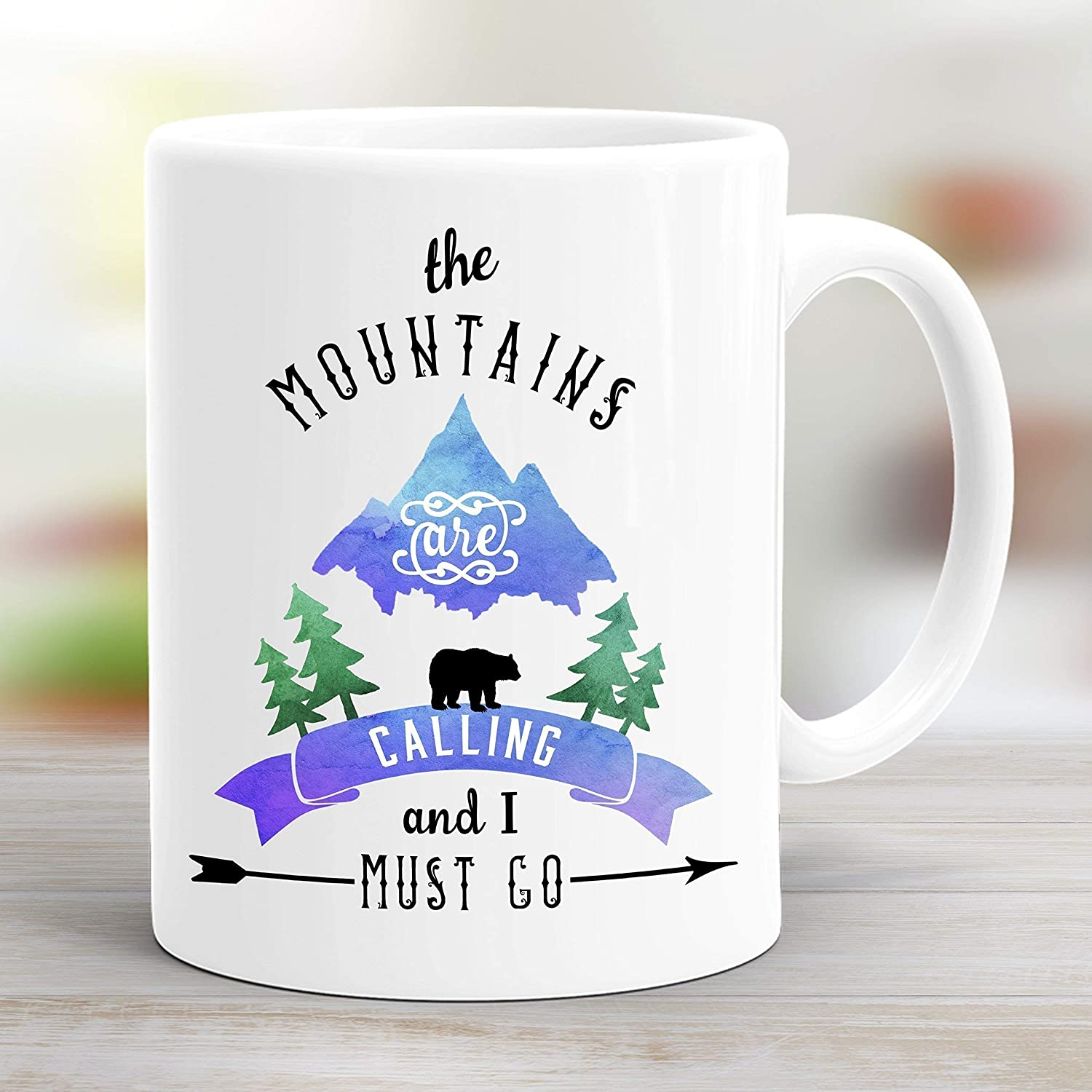 GoQuote And Mountains Coffee I Mug11oz Are The Calling Must SUzqVMLpG