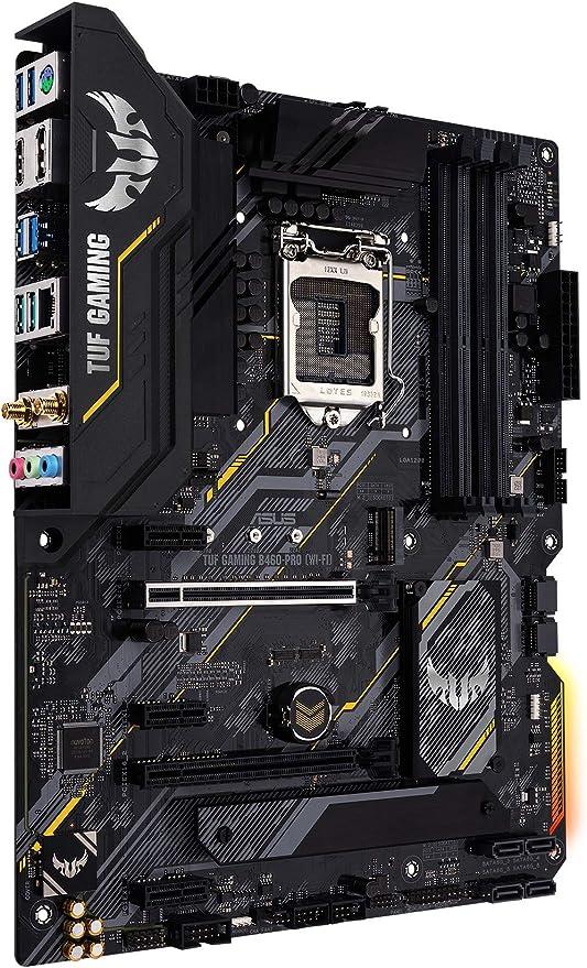 Asus Tuf Gaming B460 Pro Wifi 6 Lga1200 Atx Gaming Computers Accessories