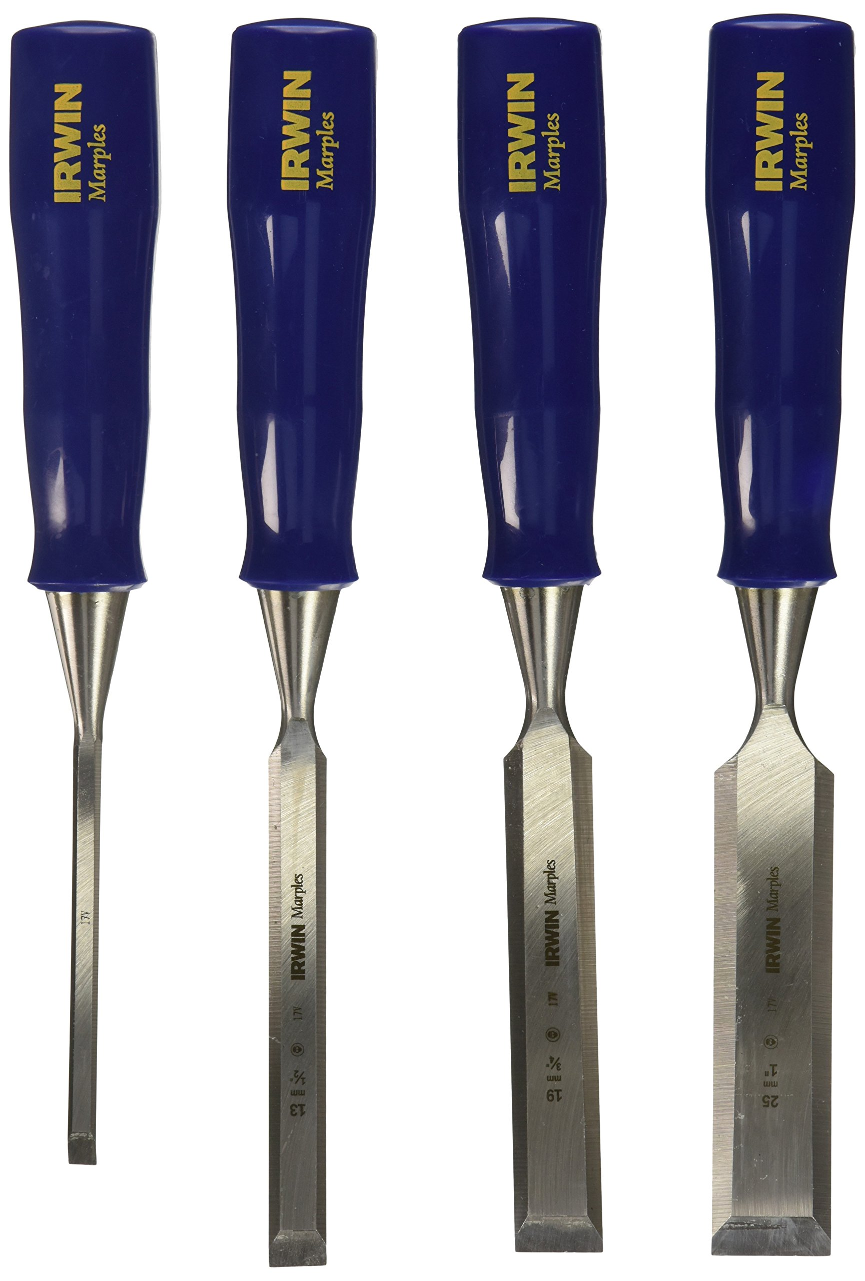 IRWIN Tools Marples Woodworking Chisel Set, 4-Piece (1885164)