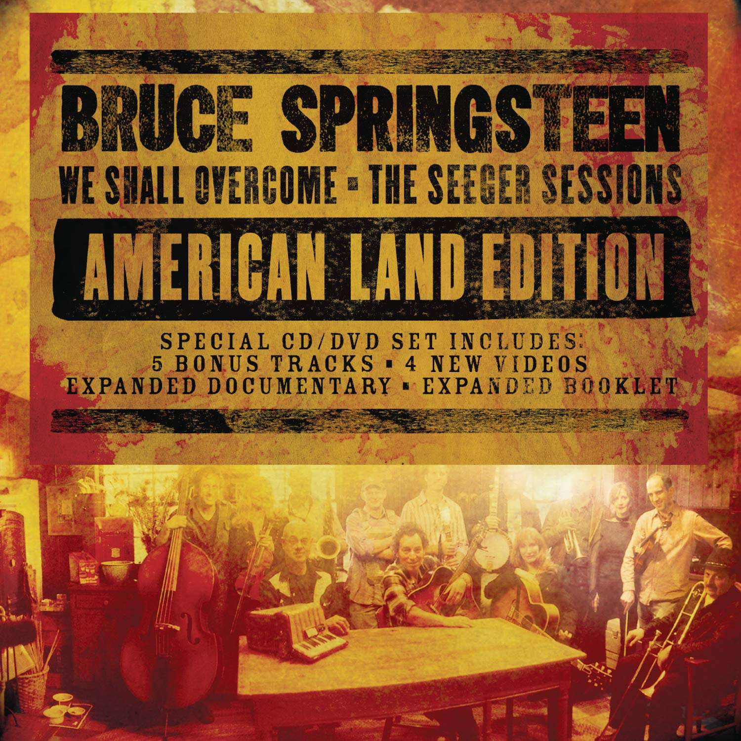 We Shall Overcome: The Seeger Sessions (American Land Edition) (CD/DVD) by Legacy