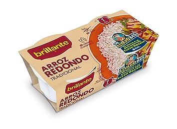 Brillante Arroz Redondo Tradicional - Pack de 2 x 125 g - Total: 250 g: Amazon.es: Amazon Pantry