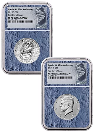 Amazon.com: 2019 Apollo 11 50th Anniversary 2-Coin ...