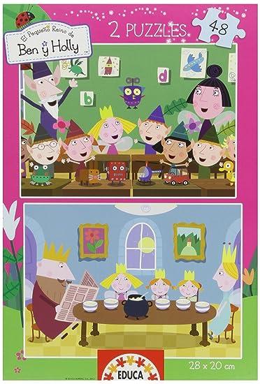 Amazon.com: Ben & Holly – Puzzle 2 x 48 piezas (15778): Toys ...
