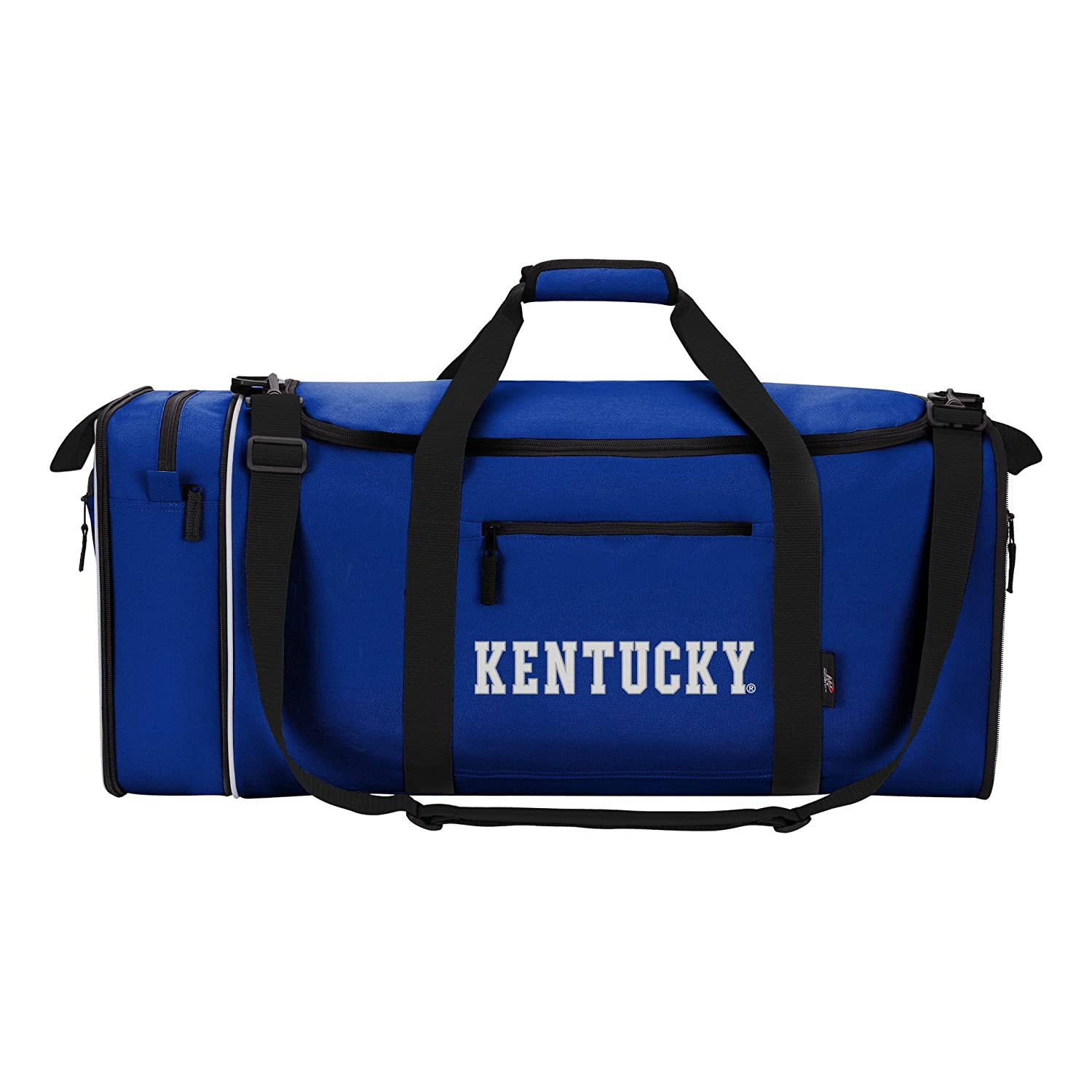 Offically Licensed NCAA Kentucky Wildcats Steal Duffel Bag 28 Multi Color