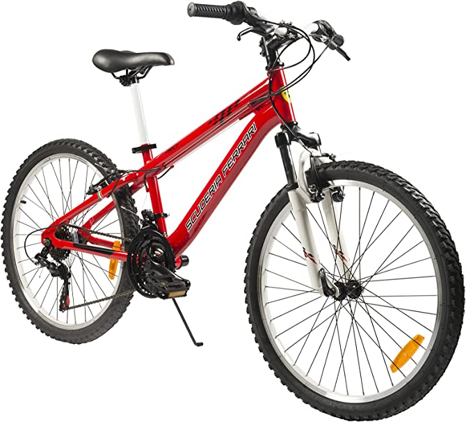 Scuderia Ferrari Bike Mtb Pro 20 Red 6 Speed Amazon De Sport Freizeit