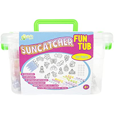 New Image Group SCFT300-74306 Kelly's Crafts Suncatcher Fun Tub-Magic Fairy Tale: Arts, Crafts & Sewing