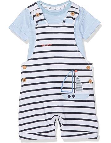 64257e7e741 Mothercare Baby Girls  Clothing Set. Mothercare Baby Boys Stripe Boat  Bibshort Shorts