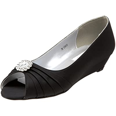 Dyeables Women's Anette Low-Heel Wedge | Pumps