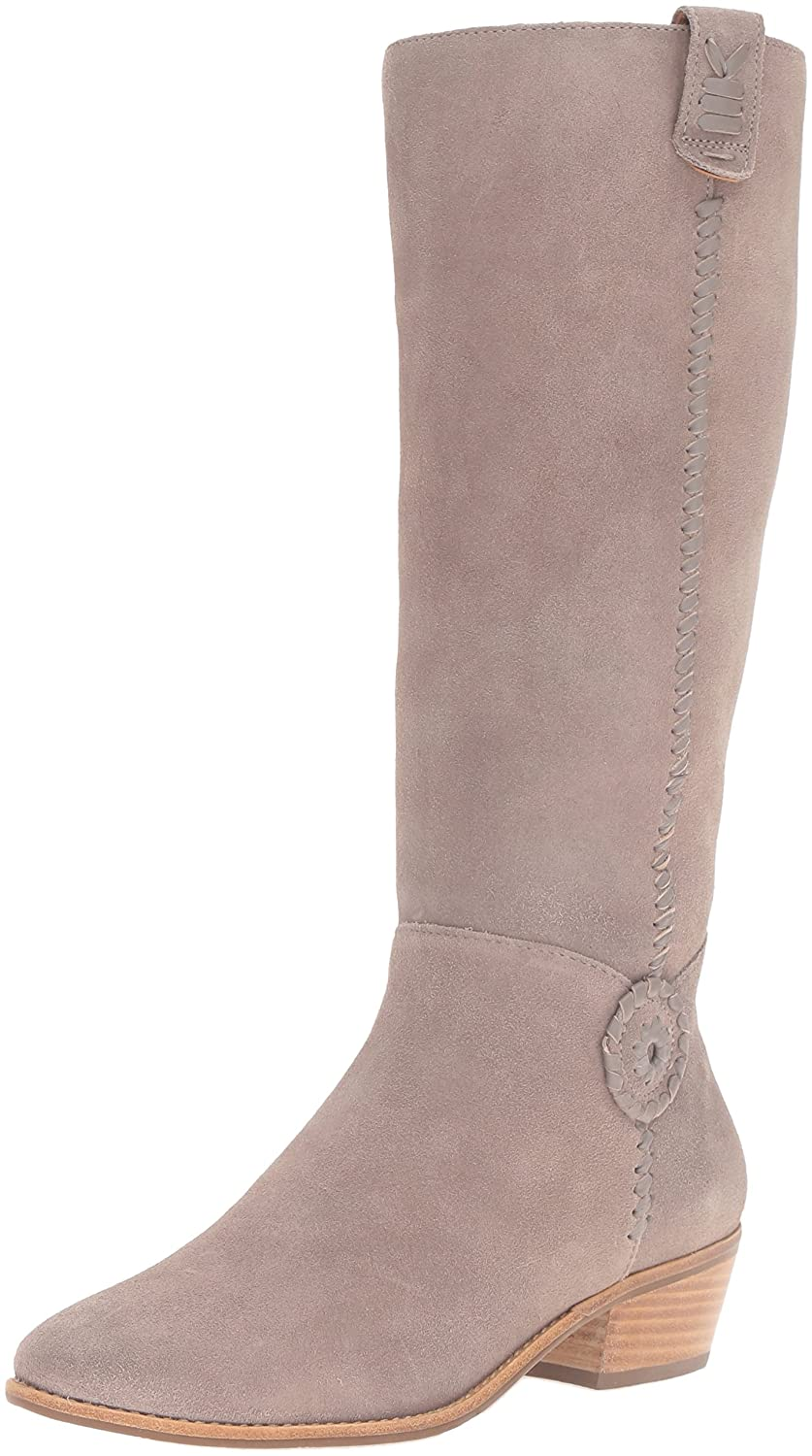Jack Rogers Women's Sawyer Rain Boot B01DCSIGVQ 6 B(M) US|Light Grey Suede