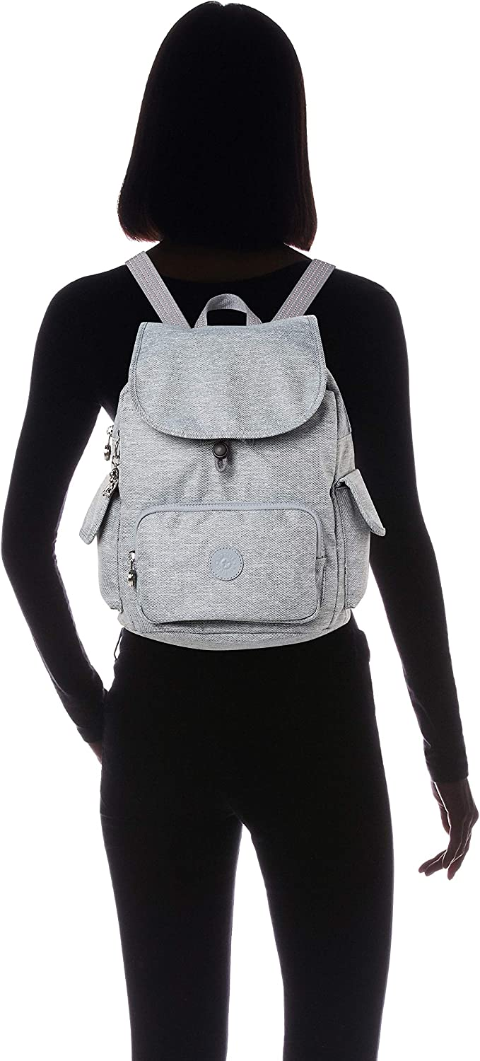 Kipling Peppery Eyes Wide Open City Pack S Small Backpack Cool Denim: Amazon.es: Zapatos y complementos