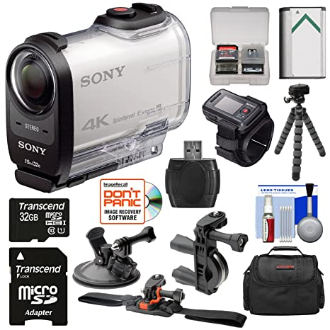 Amazon.com: Sony Action Cam FDR-X1000 V WiFi 4 K HD cámara ...