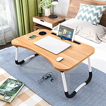 Laptop Desk Bed Tray Table Foldable Laptop Notebook Stand Desk for Working Watching Movie on Sofa