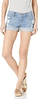 product image for James Jeans Women's Shorty Slouchy Fit Boy Shorts in Joy Ride