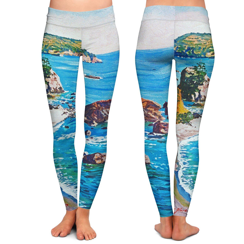 Athletic Yoga Leggings from DiaNoche Designs by David Lloyd Glover Grandeur of The Rockies