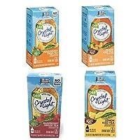 Crystal Light Tea On the Go Variety 4 pack - Raspberry Green Tea, Peach Mango Green...