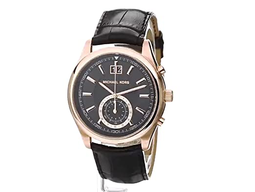 Amazon.com: Michael Kors Mens Aiden Black Watch MK8460: Michael Kors: Watches