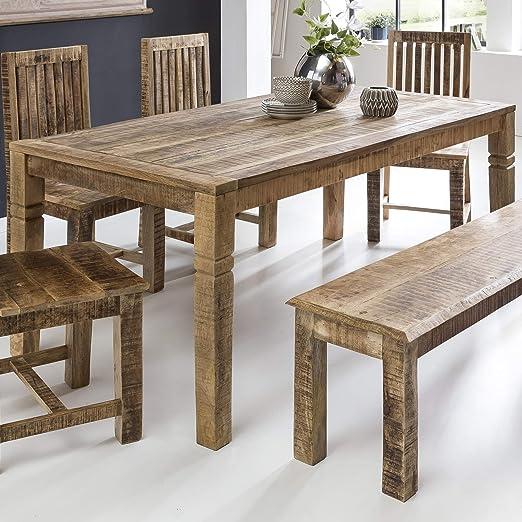 Links 99500800 Casa comedor mesa Rustica maciza de mango de madera ...