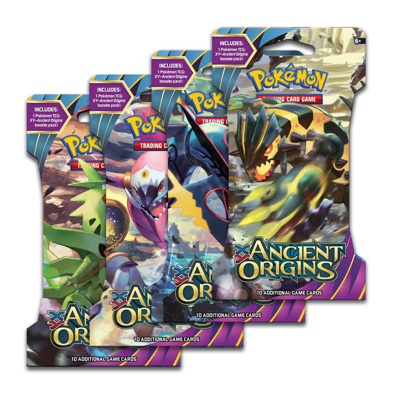Xy 7 Ancient Origins 4 packs (40 voitureds) Pokemon XY9  Break Point  Boite De 36 Boosters = 360 voituretes pour Pokemon TCG (Anglais)