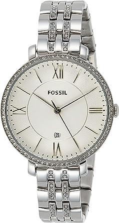 Fossil Reloj Analógico para Mujer de Cuarzo con Correa en Acero Inoxidable ES3545