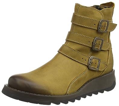 6b7e15aa4d09d Fly London SARD734FLY, Women's Ankle Boots, Yellow (Ochre), 4 UK (37 ...