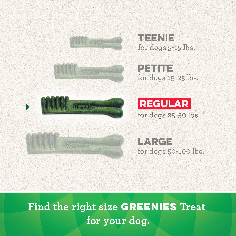 Greenies Weight Management Regular Size Dental Dog Chews - 12 Ounces 12 Treats by Greenies (Image #5)