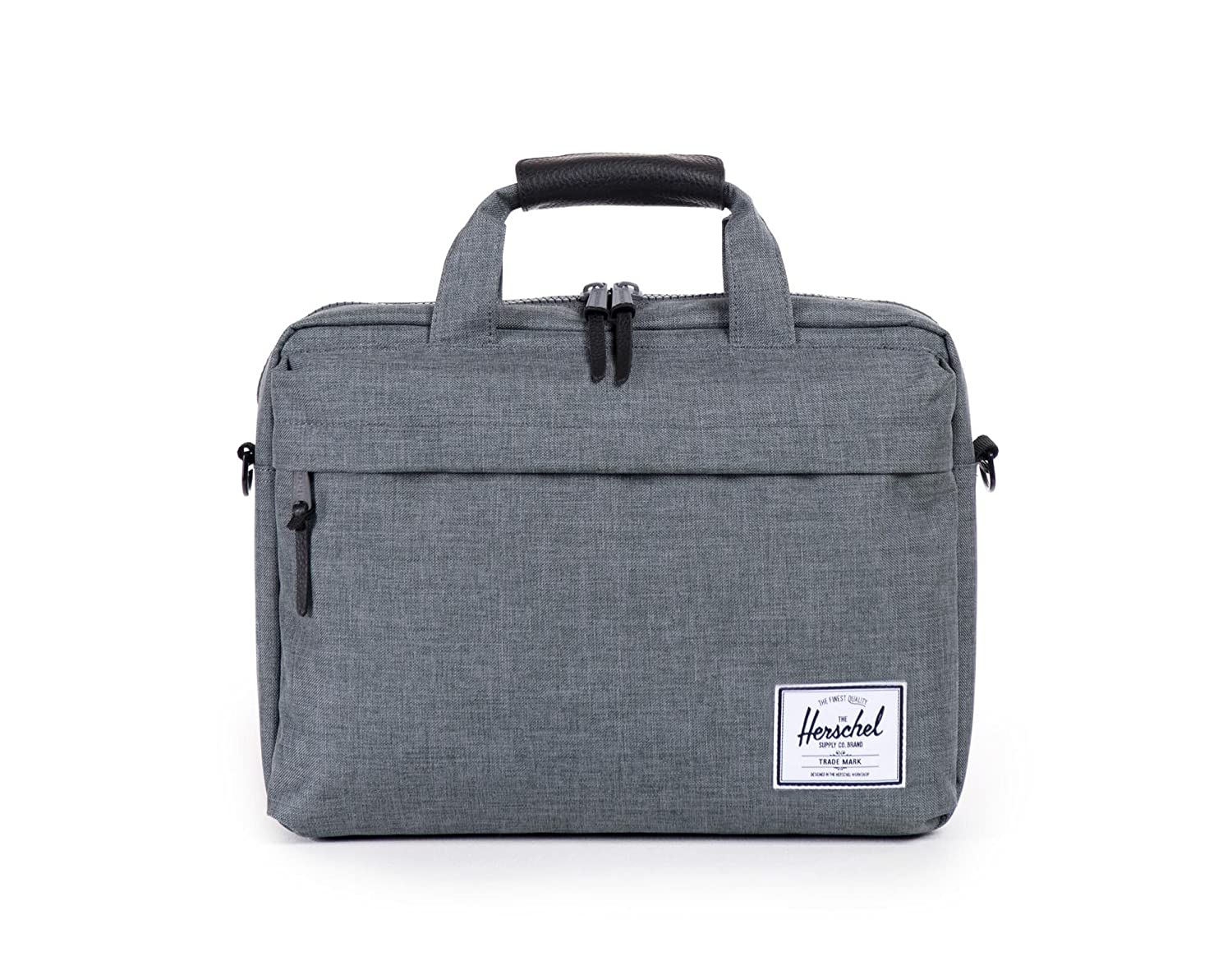 7f2897a6bb5635 Herschel Supply Co. Clark Messenger Bag, Charcoal Crosshatch, One Size:  Amazon.ca: Luggage & Bags