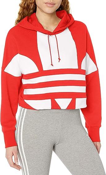 adidas Originals Pull à capuche pour femme avec logo adidas