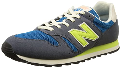 New Balance WL 373 G Womens Suede & Synthetic Trainers Grey