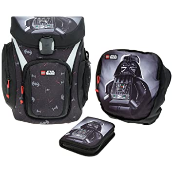 ea0a09a45913b Lego - Explorer Schulranzen Schulranzen Set - Star Wars Darth Vader Black