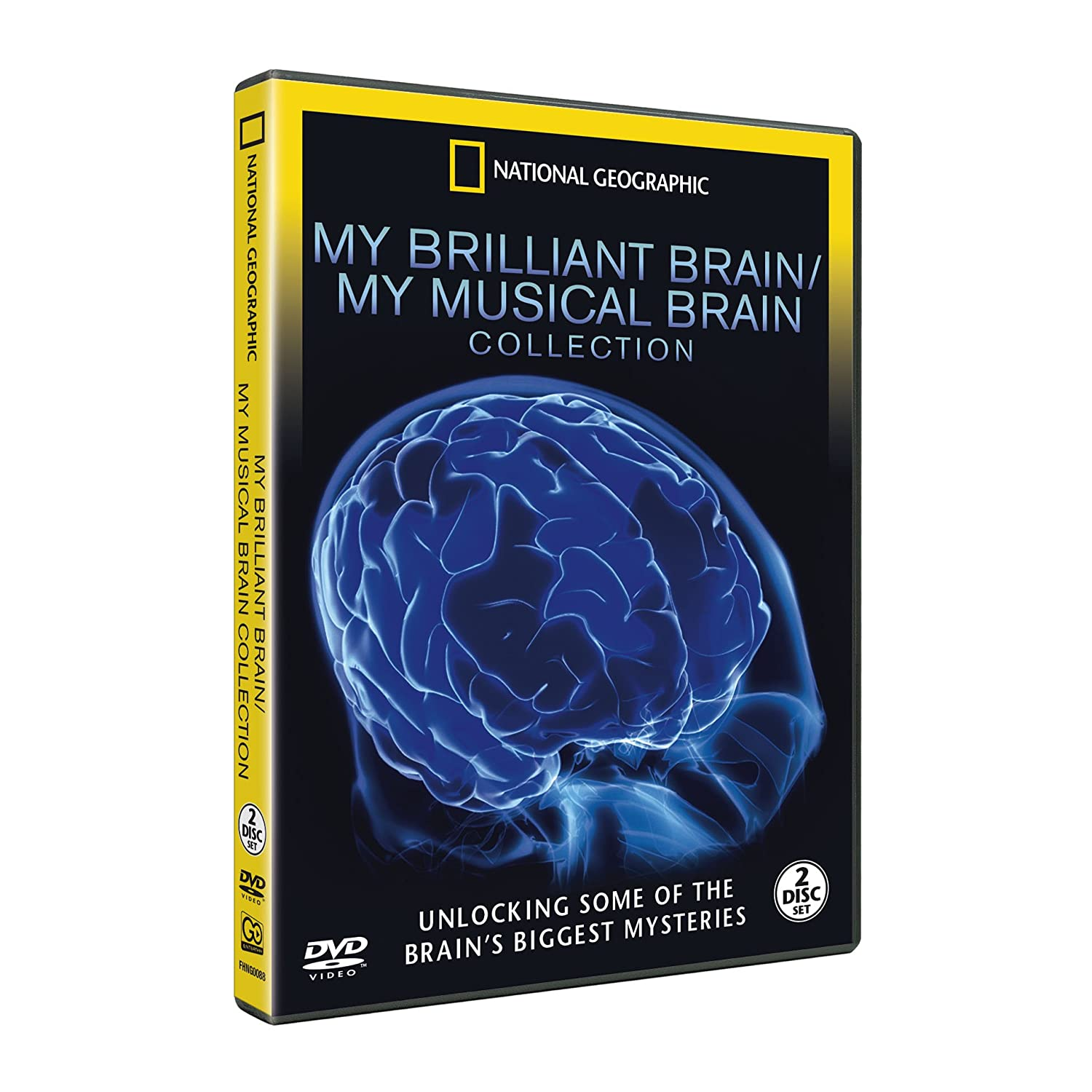 National Geographic: My Brilliant Brain / My Musical Brain Set DVD ...