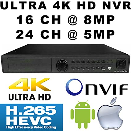 Amazon com : USG H 265 Ultra 4k UHD IP Security NVR : 16ch @ 8MP