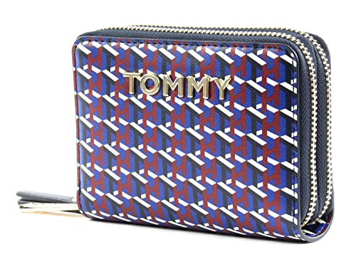 Tommy Hilfiger icónico Tommy Double Zip Around Wallet ...