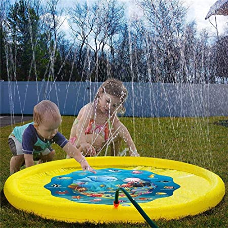 Goodtimera Splash Pad - Alfombra Hinchable para Jugar al ...