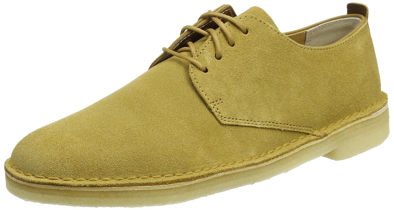 TALLA 41.5 EU. Clarks Desert London, Zapatos de Cordones Derby para Hombre