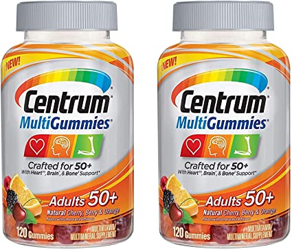 vitaminas centrum para hombres mayores de 50