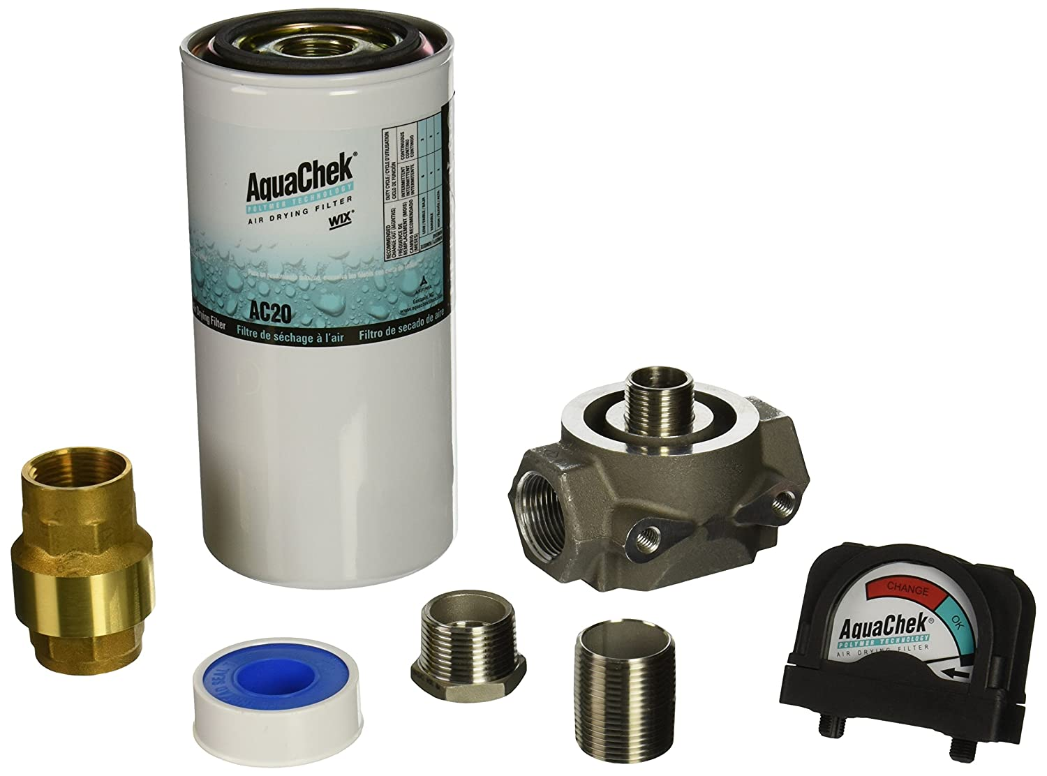 WIX Filters Pack of 1 ACKG25 Heavy Duty Water Removal Kit