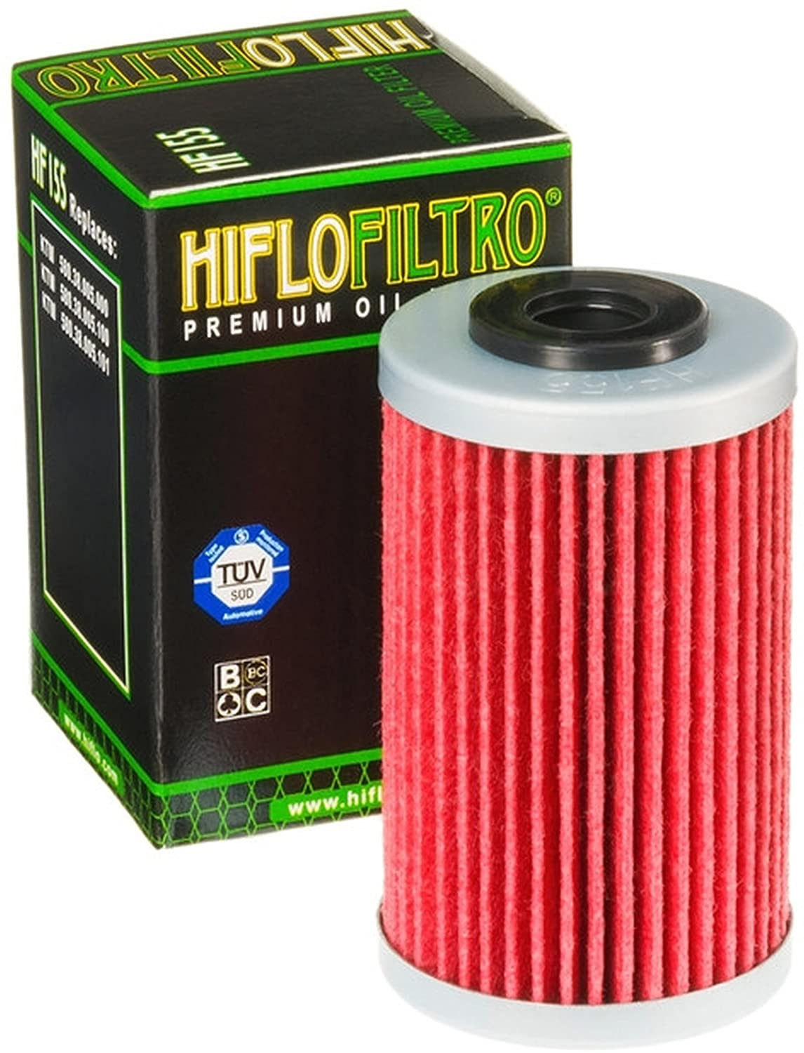 3x /Ölfilter Beta RR 525 Enduro Racing 05-09 Hiflo HF155
