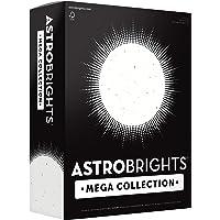 "Astrobrights Mega Collection, Colored Cardstock, Bright Confetti White, 320 Sheets, 65 lb/176 gsm, 8.5"" x 11"" - MORE…"