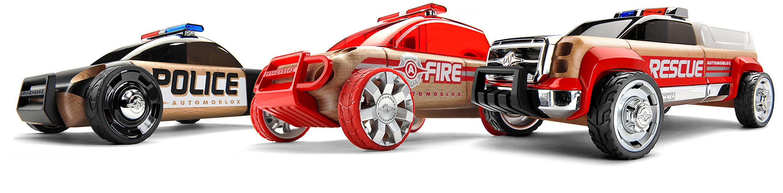 Automoblox Mini Emergency Playset (3-Pack)