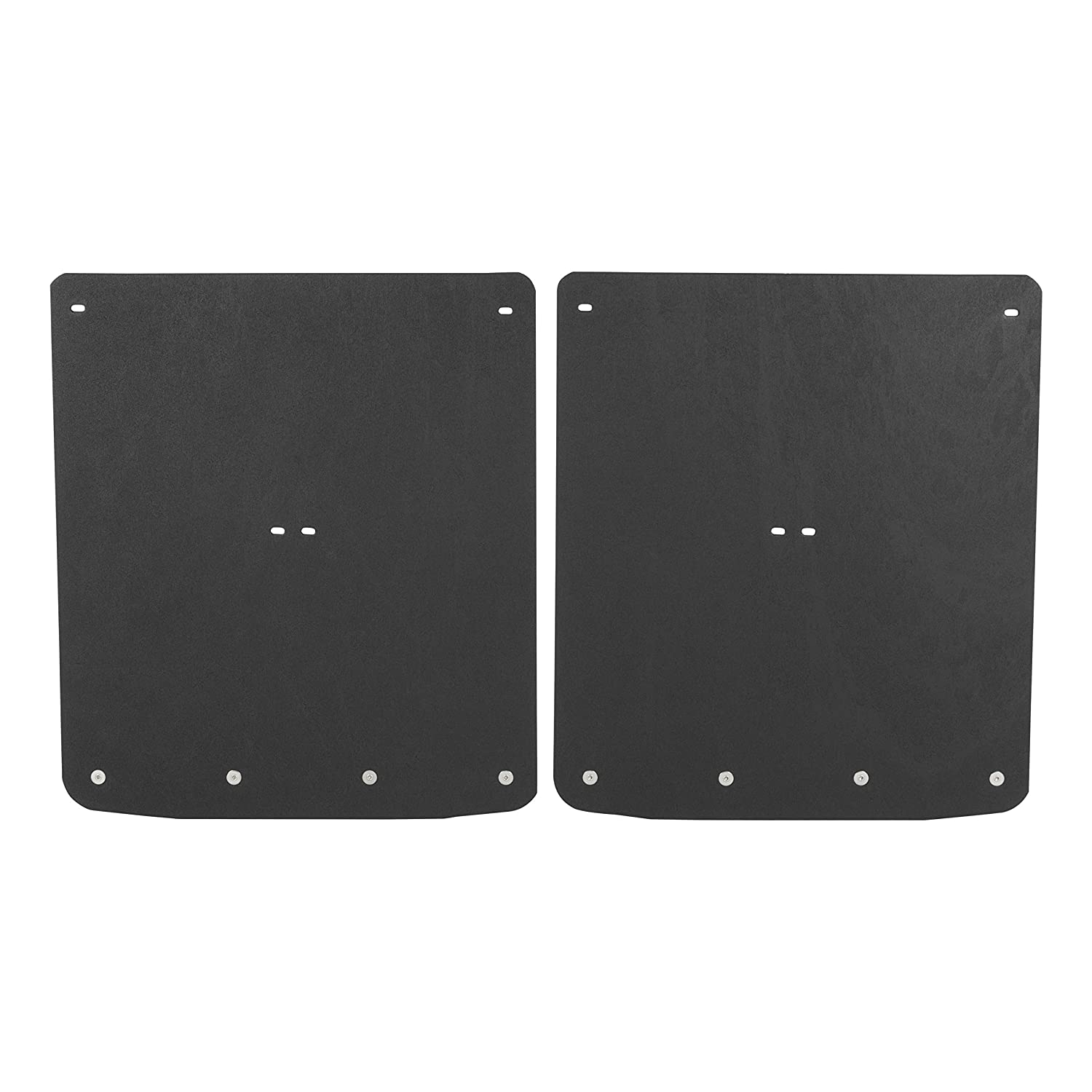 GMC Sierra 3500 HD LUVERNE 251544 Rear Dually 20 x 23-Inch Textured Rubber Mud Guards Black 20 x 23 for Select Chevrolet Silverado