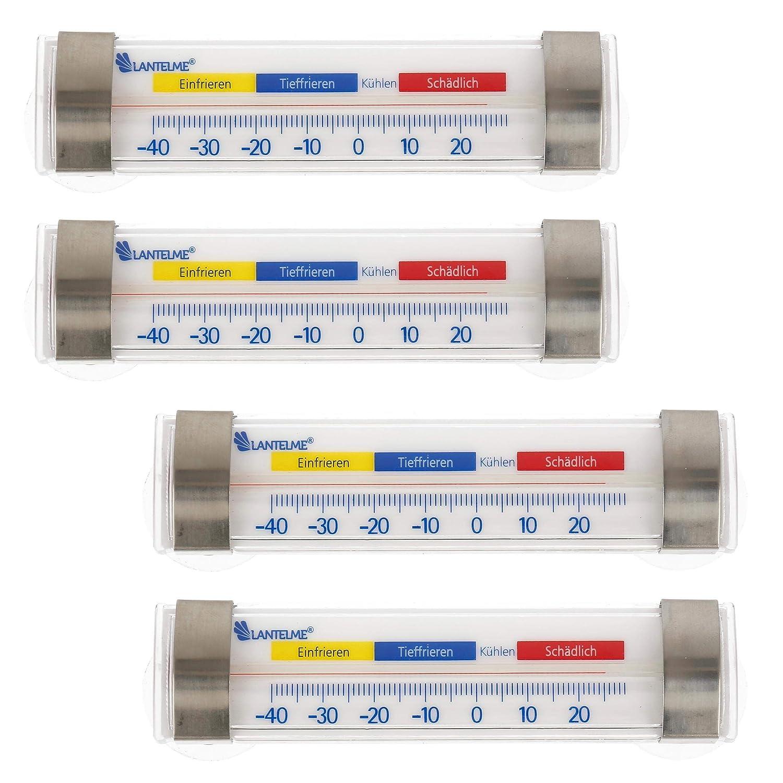 Compra Lantelme 7595 Nevera y congelador Termómetro 4 Pieza de ...