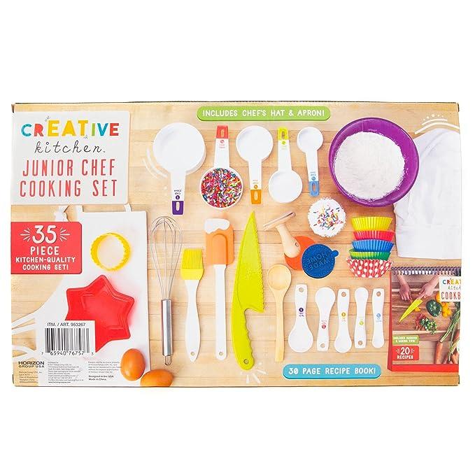 Amazon.com: Juego de cocina junior Chef Creative Kitchen por ...